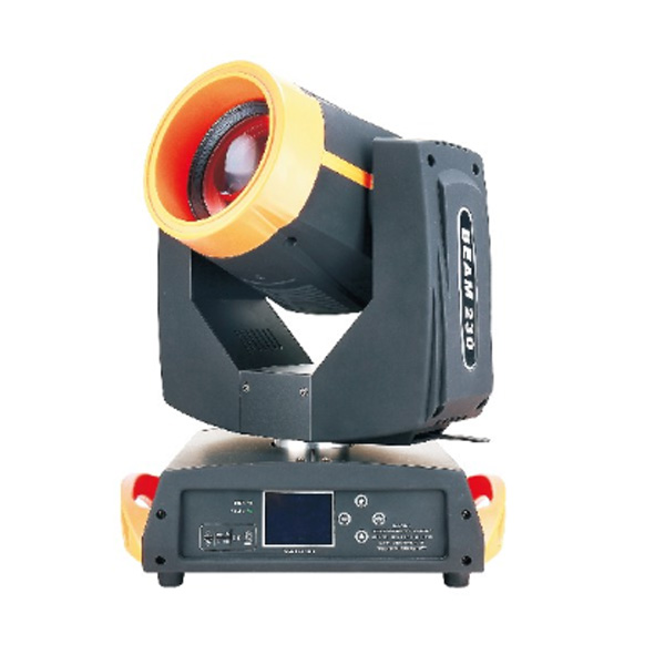 230W 7R Double Prism Beam Moving Head Light